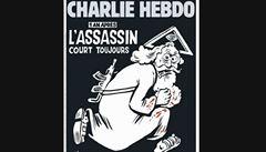 Krví potřísněný Bůh jako vrah. Rok po útoku vyšlo zvláštní číslo Charlie Hebdo