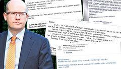'Ahoj Slávku.' Hackeři ukradli soukromou korespondenci premiéra Sobotky