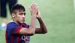 Hvězdný Neymar si užíval na Silvestra s blonďatou brazilskou bojovnicí