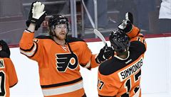 Voráček slaví další úspěch. V NHL byl vyhlášen nejlepším hráčem týdne