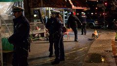 Policie v Düsseldorfu zadržela 40 lidí. Mohli se podílet na kolínských útocích