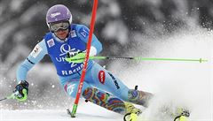 Strachové se druhé kolo slalomu nepovedlo. V Sestriere skončila devátá