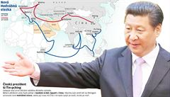 Čínská Hedvábná stezka bude pro EU zdrojem obav, uvedlo Vojenské zpravodajství