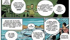 Komiks nebo 'hra' na útěk z Česka. Děti se díky kampani můžou vžít do role uprchlíka