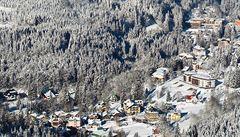 Horská služba v Krkonoších zvýšila lavinové nebezpečí na druhý stupeň
