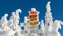V noci mrzlo nejvíc na horách. Zamrzla i Berounka, teploty klesly pod minus 20 stupňů