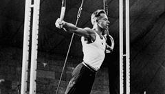 Už 85 let dluží Francouzi českému gymnastovi Aloisu Hudcovi zlato