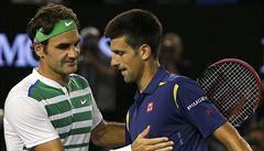 Federer opět nestačil na Djokoviče. Ten je stejně jako Štěpánek ve finále