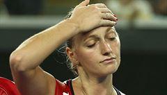 Labilní psychika? Kvitová po dvojitém selhání: 'Raději hraji Fed Cup doma'