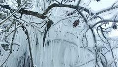 Na Šumavě v úterý klesla teplota na rekordní minimum minus 20 stupňů