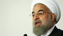 Nejbezpečnější zemí Blízkého východu je Írán, prohlásil prezident Rúhání