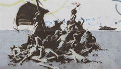 Majitelé obchodu v Bristolu omylem zamalovali slavné Banksyho graffiti