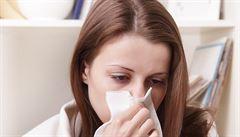 Česko je na prahu chřipkové epidemie, přibývá i akutních infekcí