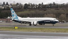 Superúsporný Boeing 737 MAX má za sebou první testovací let