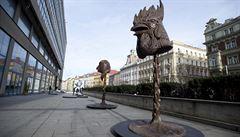 Aj Wej-wej? Taková dnešní konfekce, míní Milan Knížák. Nejznámější čínský umělec přijde do Prahy uvést svou výstavu