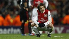 Rosický poprvé od Eura trénoval s prvním týmem Arsenalu