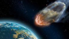 Asteroid těsně mine Zemi, bude blíž než Měsíc