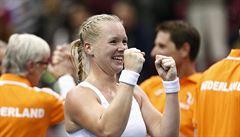 Senzace v Rusku, domácí nečekaně padly ve Fed Cupu s Nizozemskem