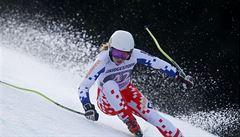 Ledecká bodovala i v super-G a je nejlepší Češkou ve Světovém poháru