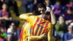 Messi a spol. zdolali i Levante a s 28 zápasy bez prohry mají rekord
