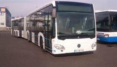 Nejdelší autobus pojme 191 cestujících. Již brzy vyrazí na letiště