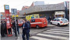 V Praze nejezdilo metro na trase B, kvůli nehodě stály tramvaje na Smíchově