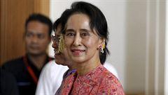 V Barmě byly vypáleny tisíce muslimských domů. Su Ťij násilnostem jen přihlíží
