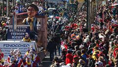 V Kolíně nad Rýnem začaly masopustní oslavy. Silvestrovské útoky lidi neodradily