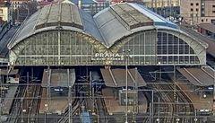 Železnice v Praze úplně jinak? Ve hře jsou luxusní expresy na letiště i nový tunel