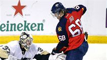 NHL: Pittsburgh Penguins at Florida Panthers
