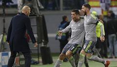Ronaldo konečně protrhl střelecký venkovní půst. Jeho obrození odneslo AS Řím