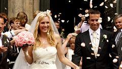 Velký tenisový návrat: Štěpánek a Vaidišová jsou tři roky po rozvodu znovu pár