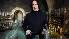 Tajemný učitel lektvarů. Rowlingová zveřejnila, jak přišla na jméno profesora Snapea