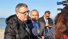 Česká pomoc Řecku s uprchlíky: deset milionů na otisky prstů