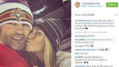 Tak tady nás máte, pochlubila se Jágrova přítelkyně na Instagramu