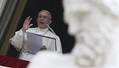 Papež za pomoc migrantům pochválil Řecko. Apeloval na společnou spolupráci