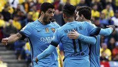 Suárez opět řídil výhru Barcelony. Ta vede před Atlétikem už o devět bodů