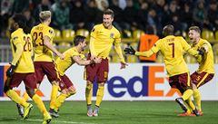 Sparta smázla Krasnodar v odvetě 3:0 a jde do osmifinále Evropské ligy