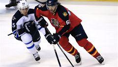 Jágr dal Winnipegu dva góly a je třetím nejlepším střelcem NHL všech dob