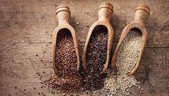 Quinoa je plná vlákniny a bílkovin. Zkuste ji v kokosové polévce