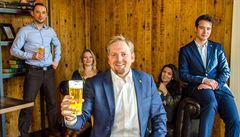 Občany Liberlandu chce být 87 tisíc lidí. Jedličkův 'stát' už vaří i vlastní pivo