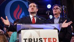 Zastaví někdo Trumpa? Jeho nejvážnější republikánský soupeř Cruz odstoupil