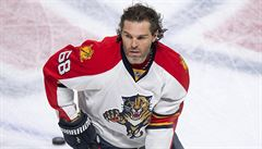 Jágr může dostat cenu za oddanost hokeji. Má však dva velké soupeře