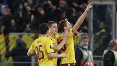 Fantastická Sparta dobyla Řím. Po výhře 3:0 si zahraje čtvrtfinále Evropské ligy