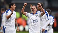 Leicester uniká pronásledovatelům, opět vyhrál díky jedinému gólu