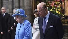 Zemřel princ Philip, manžel britské panovnice Alžběty II. Vévodovi z Edinburghu bylo 99 let