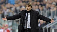 Conte skončí na italské lavičce, po sezoně má převzít Chelsea