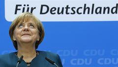 Německá SPD si dala podmínky pro koaliční jednání s Merkelovou
