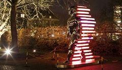 Černého Speederman láká na festival světla do Amsterodamu