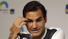 Federer musel na operaci kvůli dětem. Koleno si poranil při napouštění vany